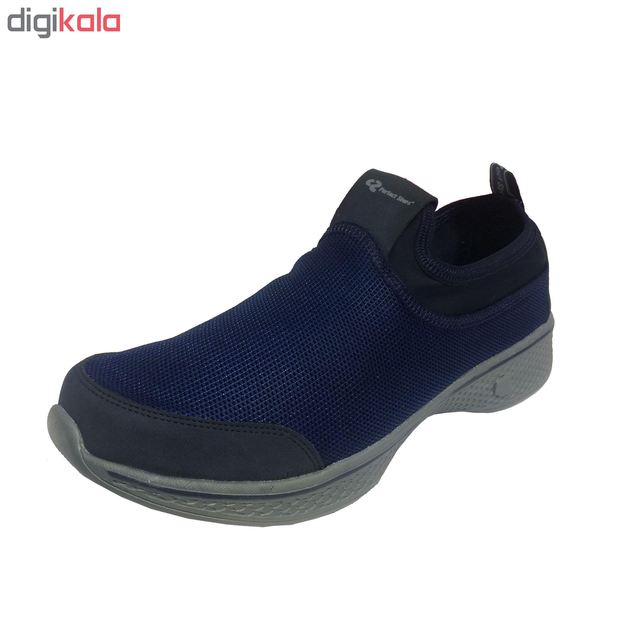 کفش مخصوص پیاده روی مردانه پرفکت استپس مدل سولو کد 1-1940 main 1 2