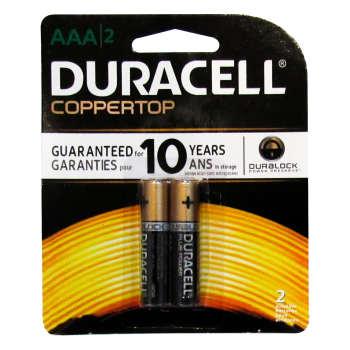باتری نیم قلمی دوراسل مدل Plus Power Coppertop بسته 2 عددی