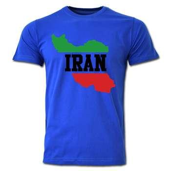 تی شرت آستین کوتاه طرح ایران کد  SB07