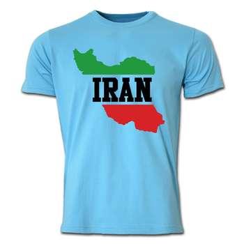 تی شرت آستین کوتاه طرح ایران کد  SBB07