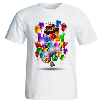 Photo of تی شرت زنانه طرح کیک تولد کد 7066