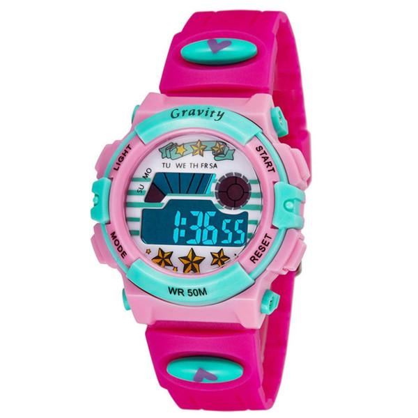ساعت مچی دیجیتال دخترانه گراویتی مدل VG900401