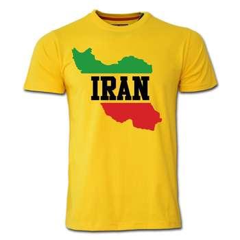 تی شرت آستین کوتاه طرح ایران کد  SY07
