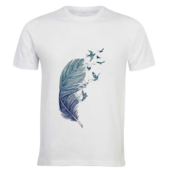 تی شرت آستین کوتاه مردانه زیزیپ کد 1358T