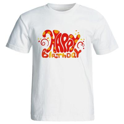 تی شرت زنانه طرح تم تولد کد ۷۰۹۲