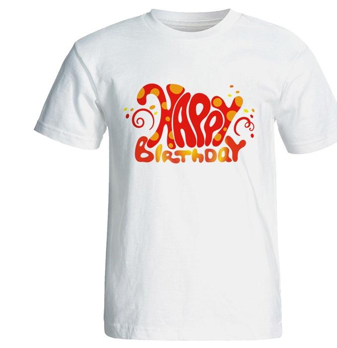 تی شرت نه طرح تم تولد کد 7092
