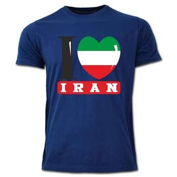 تی شرت آستین کوتاه طرح  ایران کد  SS04