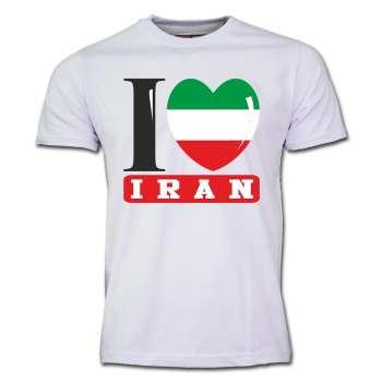 تی شرت آستین کوتاه طرح  ایران کد  SW04