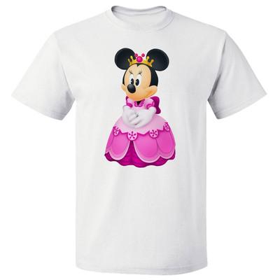 تی شرت  پارس طرح کارتونی مینی ماوس کد 7110