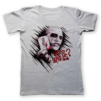 تی شرت به رسم طرح جوکر  یک کد 226