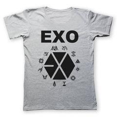 تی شرت به رسم  طرح اگزو کد 221