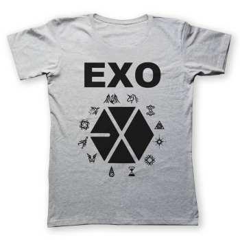 تی شرت به رسم  طرح اکسو کد 221
