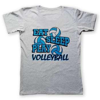 تی شرت به رسم طرح والیبالیست کد 241