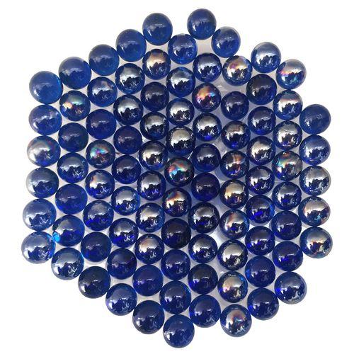 تیله شیشه ای نوستالژی گلدونه مدل A04 بسته 100 عددی