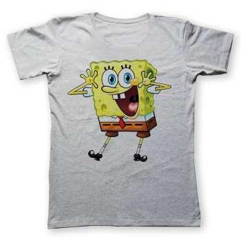 تی شرت به رسم طرح باب اسفنجی کد 245