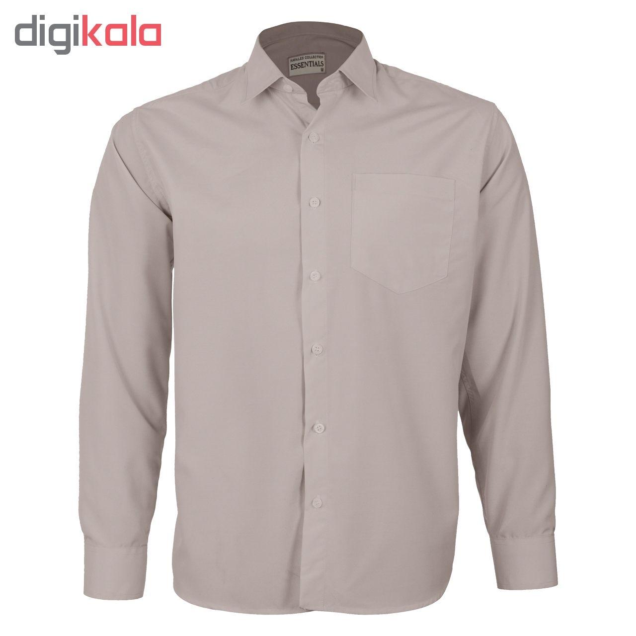 پیراهن مردانه ناوالس کد RegularFit-Tet-kh main 1 1
