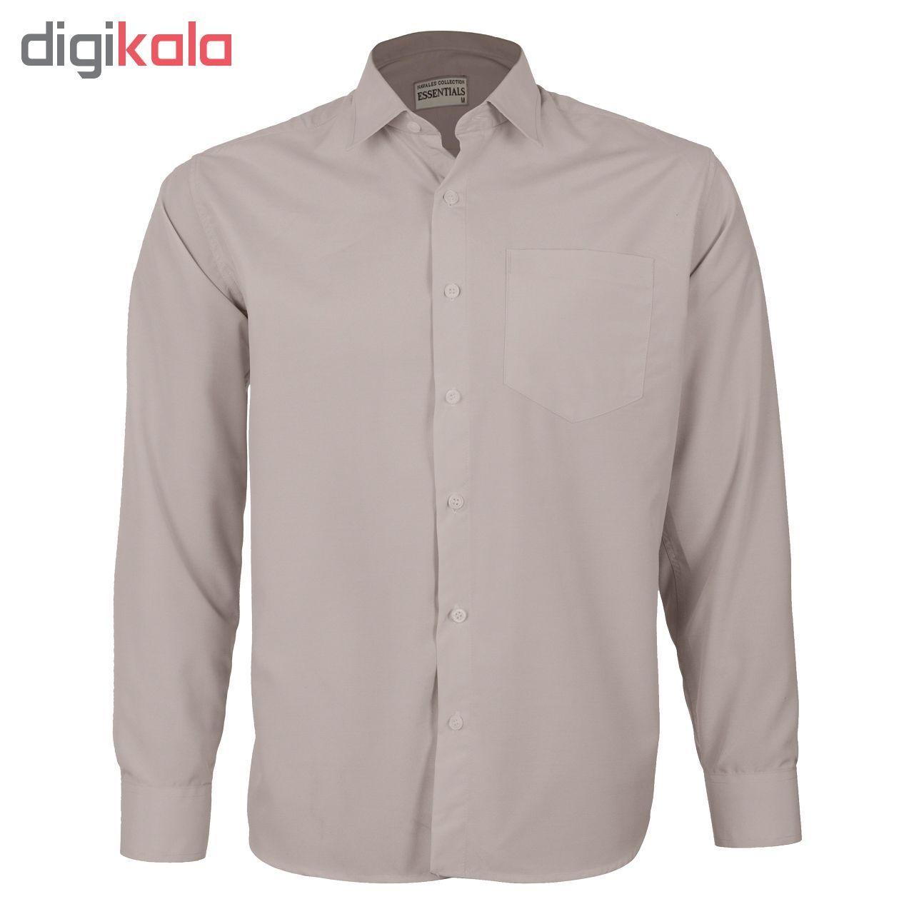 پیراهن مردانه ناوالس کد RegularFit-Tet-kh -  - 3
