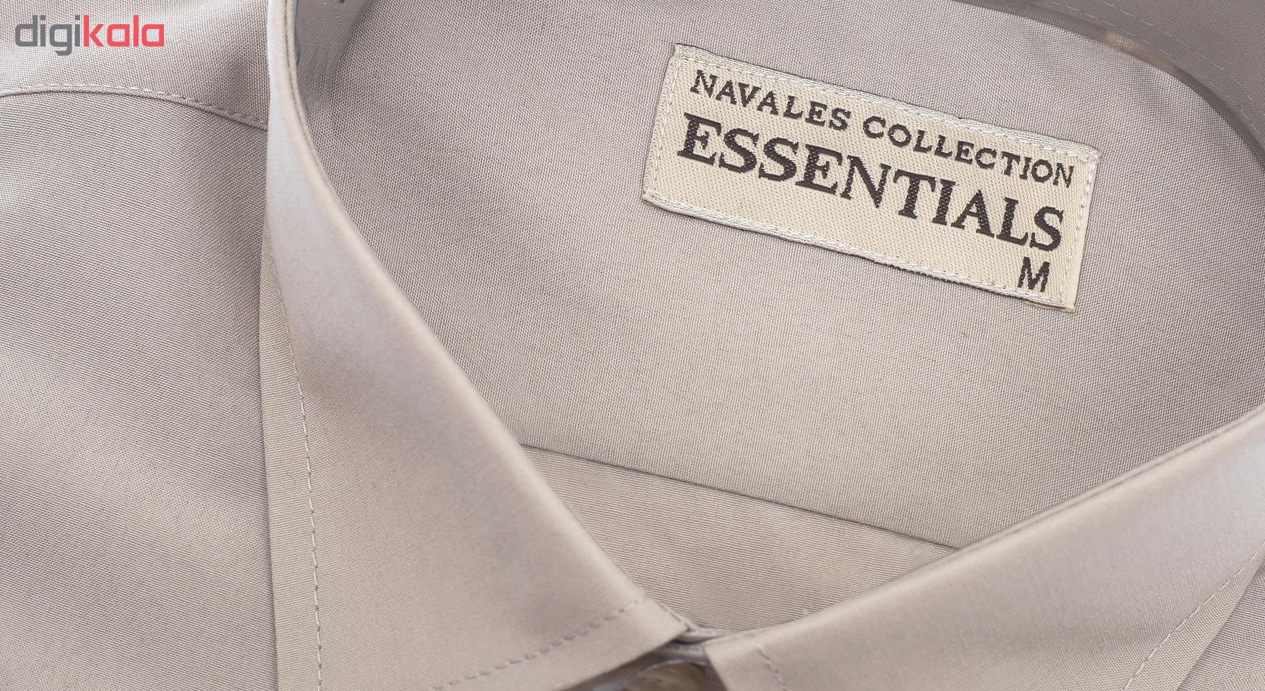 پیراهن مردانه ناوالس کد RegularFit-Tet-kh main 1 5