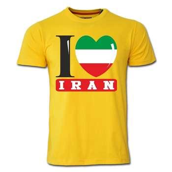 تی شرت آستین کوتاه طرح ایران کد  SY04