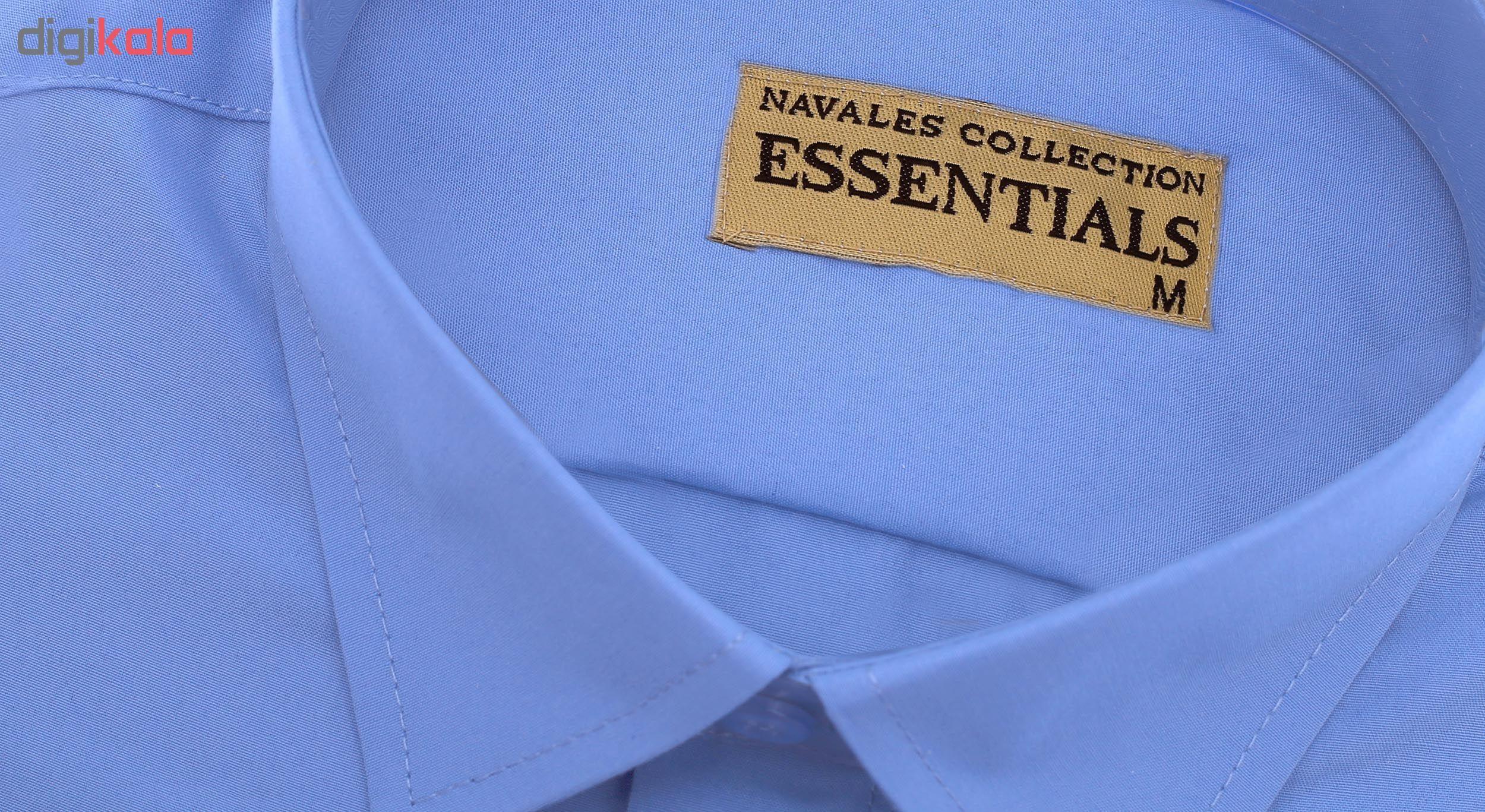 پیراهن مردانه ناوالس کد RegularFit-Tet-bl main 1 5