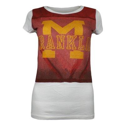 تیشرت زنانه فرانکلین مارشال مدل جرزی کد 052