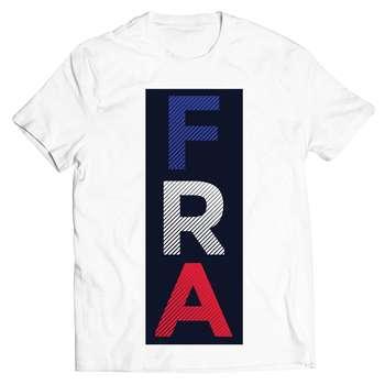 تی شرت آستین کوتاه پاتیلوک طرح فرانسه مدل 33077