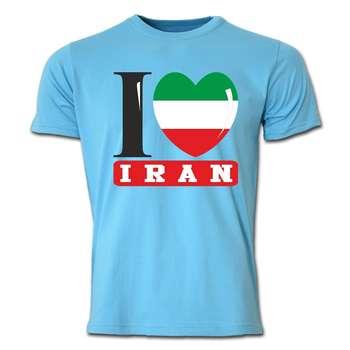 تی شرت آستین کوتاه طرح ایران کد  SB04
