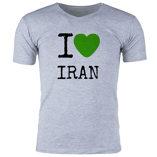 تی شرت ملانژ  گالری واو طرح ایران  کد CT80117