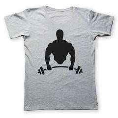 تی شرت به رسم طرح بدنساز کد 208