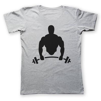 Photo of تی شرت به رسم طرح بدنساز کد 208