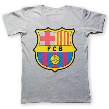 تی شرت به رسم طرح بارسلونا کد 213