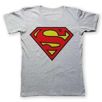 تی شرت یورپرینت طرح سوپرمن کد 219