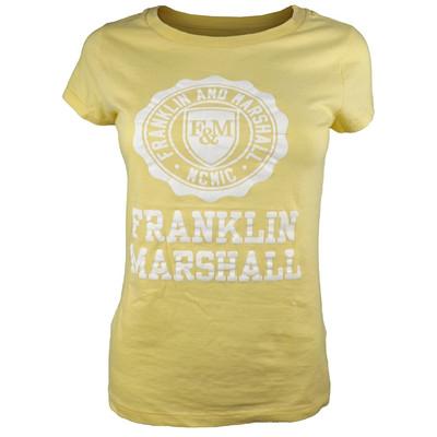 تیشرت زنانه فرانکلین مارشال مدل جرزی  کد ۶۴۴a