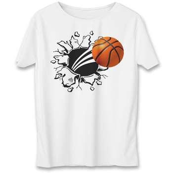 تی شرت یورپرینت به رسم طرح بسکتبال کد 325