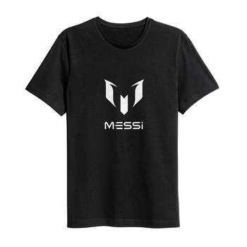 تی شرت نخی ورزشی سام آرت مدل لیونل مسی کد 244