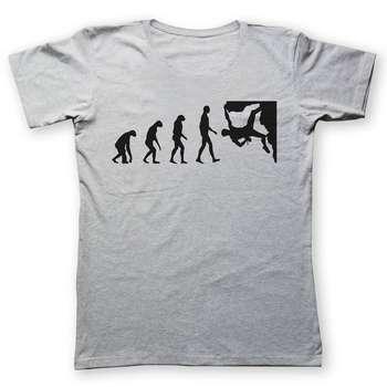 تی شرت به رسم طرح صخره نورد کد 238