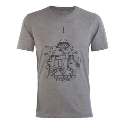 تصویر تی شرت مردانه سیاوود مدل CNECK-TEHRAN-W0008