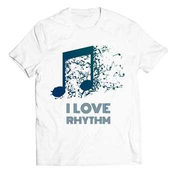 تی شرت آستین کوتاه پاتیلوک طرح موزیک مدل 33074
