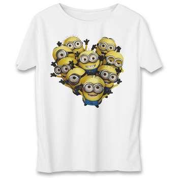 تی شرت یورپرینت به رسم طرح مینیون کد 349