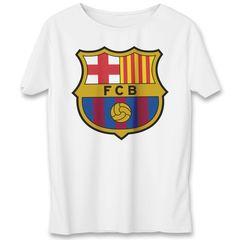 تی شرت به رسم طرح بارسلونا کد 313
