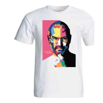 تی شرت مردانه طرح استیو جابز مدل SA129