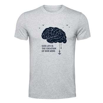 تیشرت الینور طرح مغز کد EML267