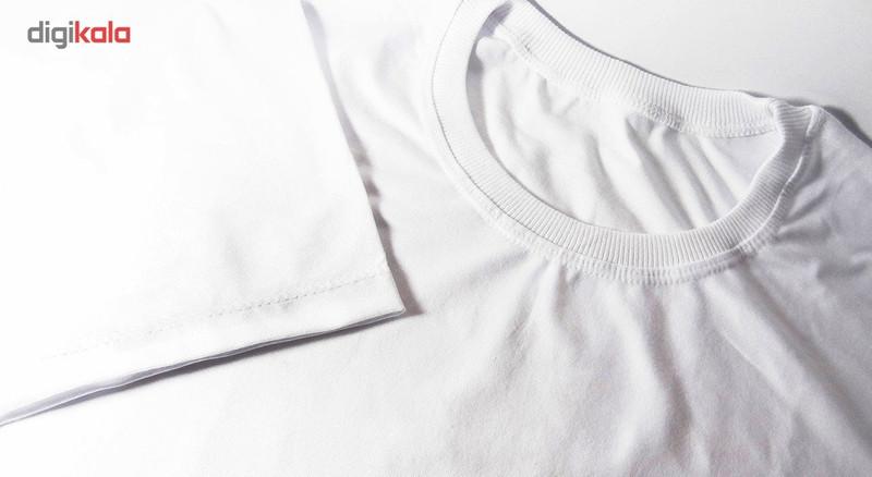 تیشرت آستین کوتاه زنانه شین دیزاین طرح ماه تولد مرداد  کد 4602