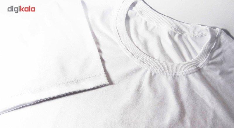 تیشرت آستین کوتاه مردانه تارپون طرح فانتزی کد 10145