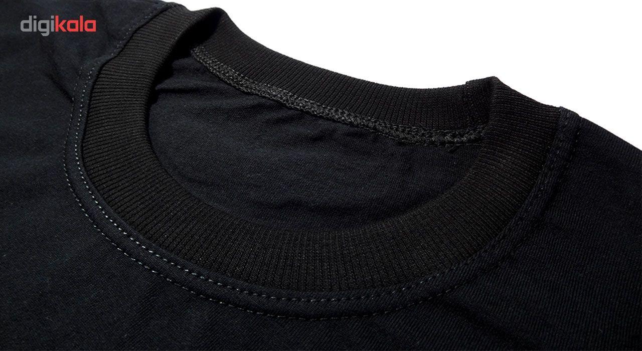 تیشرت آستین کوتاه مردانه بلک اند وایت فانتزی کد BW-A-6120 main 1 3