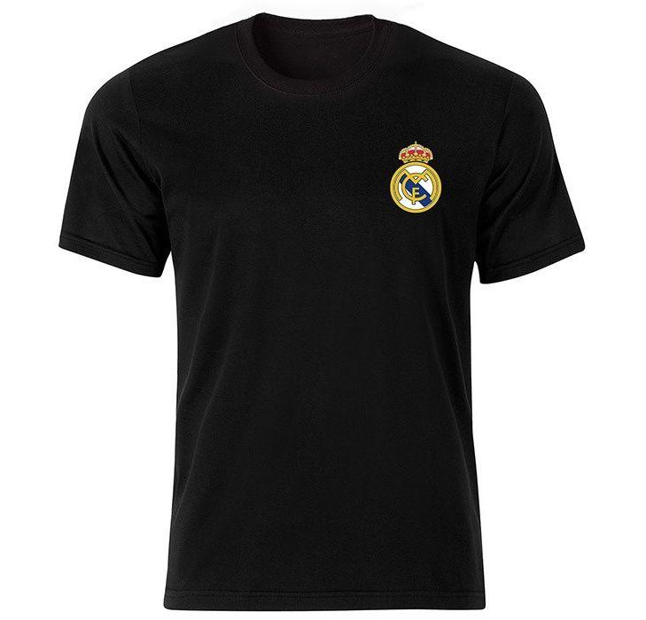تیشرت آستین کوتاه مردانه تارپون  طرح رئال مادرید main 1 2