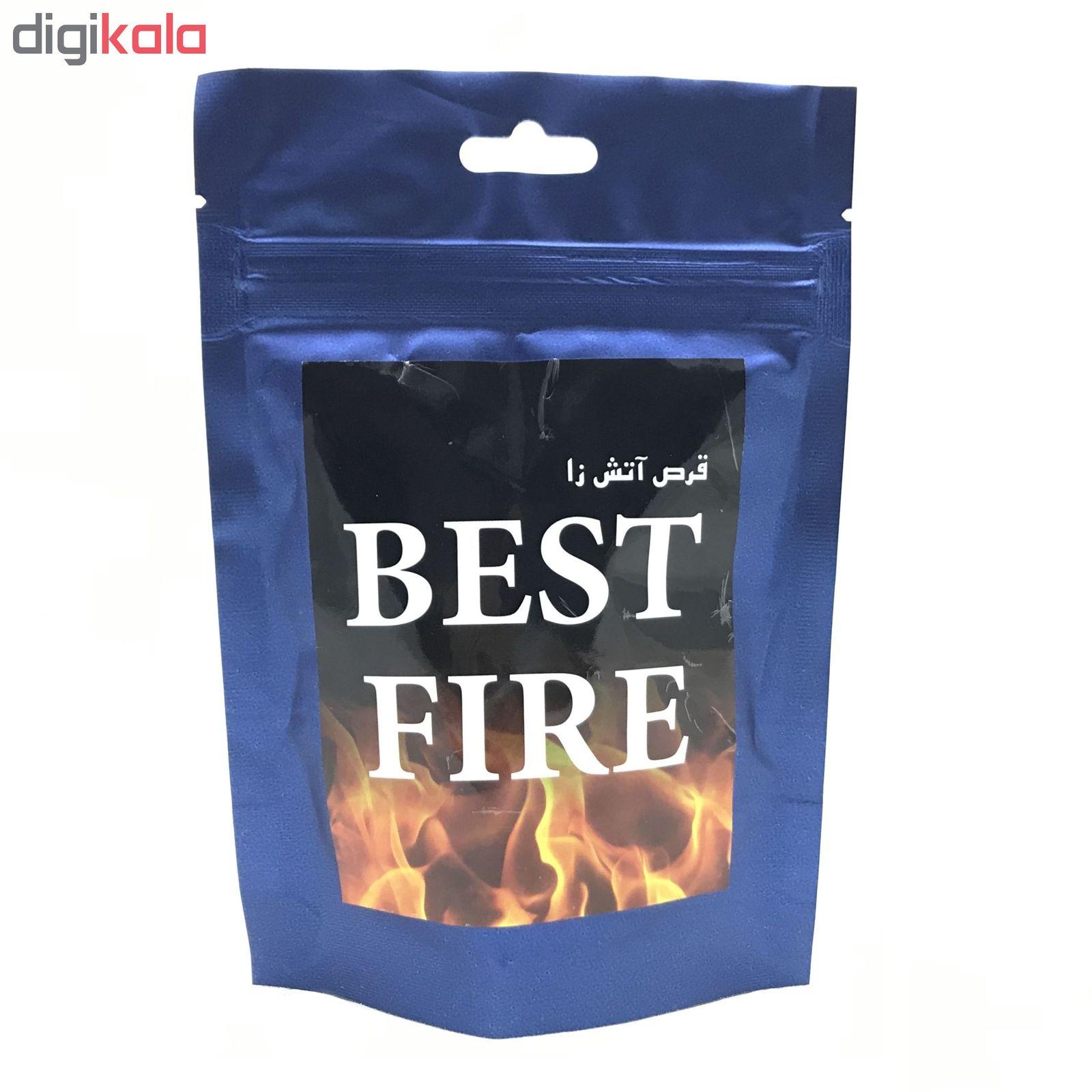 قرص آتش زا مدل BEST FIRE بسته ۳۰ عددی main 1 2