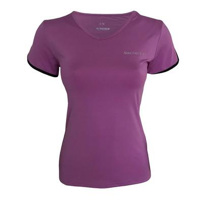 تصویر تی شرت ورزشی  زنانه ساکریکس مدل LTSH572.PUR BLK