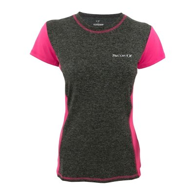 تصویر تیشرت ورزشی زنانه ساکریکس مدل LTSH573.D GRY PINK