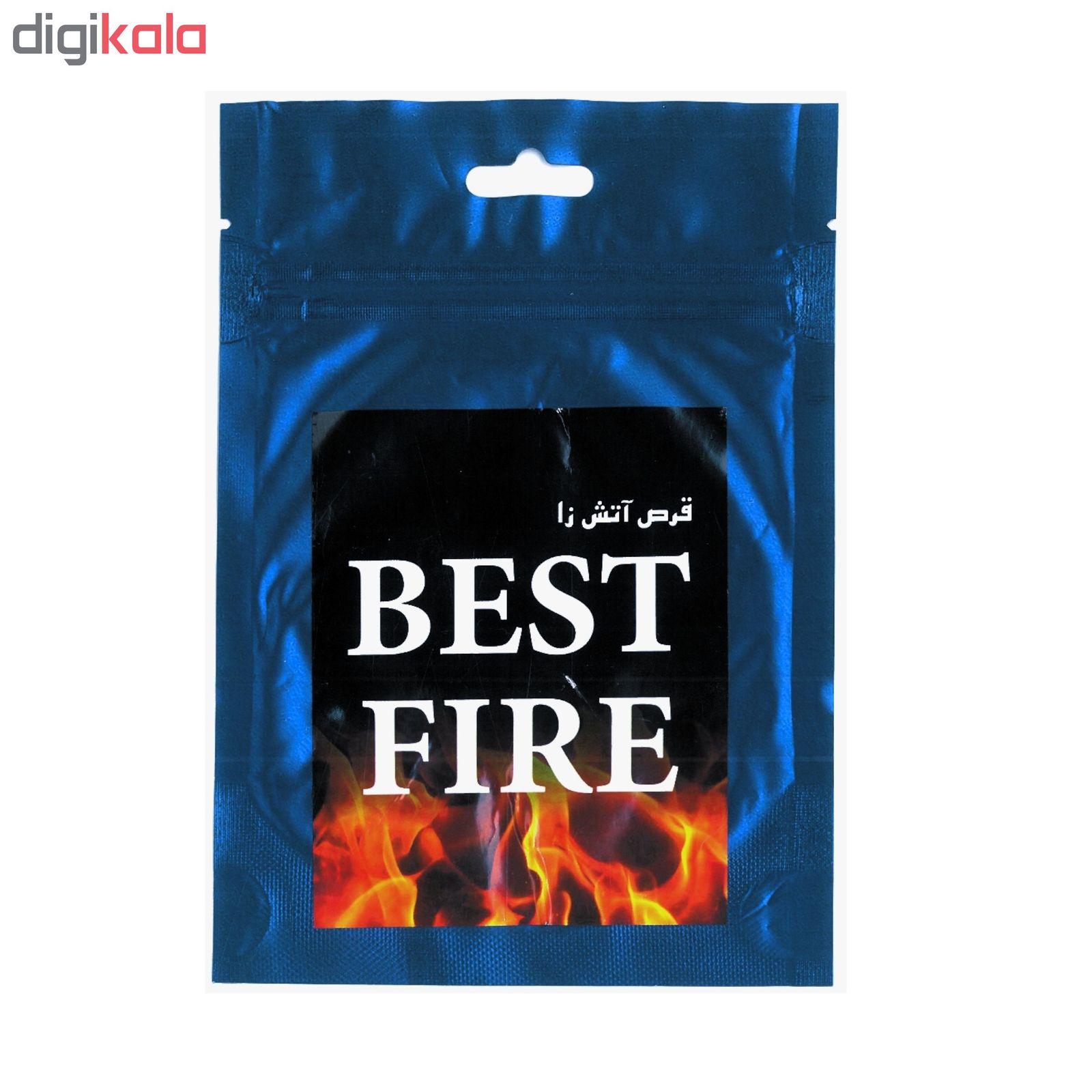 قرص آتش زا مدل BEST FIRE بسته ۳۰ عددی main 1 1